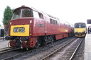 D1035 Western Yeoman (D1010) + 150123 - 11-6-11 - Bishops Lydeard