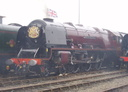 6233 Duchess of Sutherland - 11-9-05 - Crewe Works