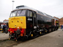 47832 Driver Tom Clarke OBE - 11-9-05 - Crewe Works