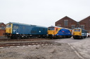 73119 + 73109 Battle of Britain 50th Anniversary + 73006 - 23-5-09 - Eastleigh Works