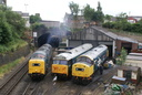 55022 Royal Scots Grey + 50008 Thunderer + 40145 East Lancashire Railway - 3-7-10 - Castleford