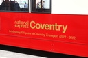 National Express Coventry, Celebrating 100 Years of Coventry Transport (1912 - 2012) - 12-5-12