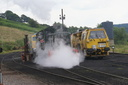 D2334 letting off steam !!! - 21-7-12 - Cheddleton