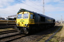 66957 Stephenson Locomotive Society 1909 - 2009 - 2-3-13 - Bescot (1)