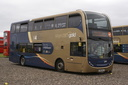 15742 KX61DLE - 22-9-13 - Long Marston Airfield, (Showbus 2013)