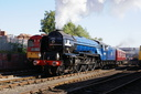 60163 Tornado - 29-9-13 - Barrowhill Roundhouse (1)