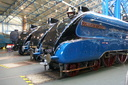 4489 Dominion of Canada + 4468 Mallard + 60008 Dwight D. Eisenhower - 30-11-13 - National Railway Museum, York