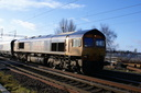 66705 Golden Jubilee - 1-2-14 - Bushbury Junction