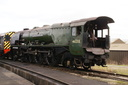 46233 DUCHESS OF SUTHERLAND - 8-2-14 - Swanwick Junction (Midland Railway Centre) (1)