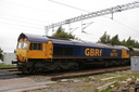 66702 Blue Lightning - 30-8-14 - Bushbury Junction