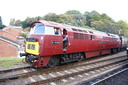 D1062 WESTERN COURIER - 3-10-14 - Bewdley (Severn Valley Railway)