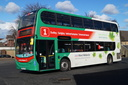 5413 BX13JOU - 24-3-15 - Dudley Bus Station