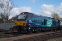 68001 Evolution - 19-4-15 - Barrow Hill Roundhouse (9)