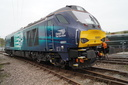 68001 Evolution - 19-4-15 - Barrow Hill Roundhouse