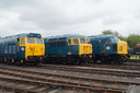 50035 Ark Royal + 56006 + 45060 SHERWOOD FORESTER - 23-5-15 - Didcot Railway (1)