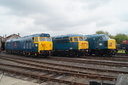 50035 Ark Royal + 56006 + 45060 SHERWOOD FORESTER - 23-5-15 - Didcot Railway Centre (2)