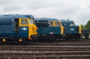 50035 Ark Royal + 56006 + 45060 SHERWOOD FORESTER - 23-5-15 - Didcot Railway Centre