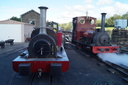 HE 680 + HE 822 MAID MARIAN - 31-8-15 - Llanuwchllyn (Bala Lake Railway)