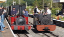 HE 780 ALICE + HE 364 WINIFRED - 31-8-15 - Llanuwchllyn (Bala Lake Railway)