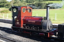 HE 822 MAID MARIAN - 31-8-15 - Llanuwchllyn (Bala Lake Railway) (3)