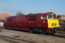 D1015 WESTERN CHAMPION - 2-10-15 - Kidderminster Town (Severn Valley Railway) (1)