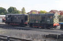D3201 + 12099 - 2-10-15 - Kidderminster Town (Severn Valley Railway)