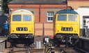 D7029 + D7076 - 2-10-15 - Kidderminster Town (Severn Valley Railway)