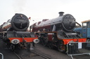 6201 PRINCESS ELIZABETH + 5593 KOLHAPHUR - 25-10-15 - Tyseley (Tyseley Locomotive Works)