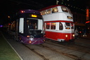 001 + 701 - 31-10-15 - North Pier (Blackpool Transport)