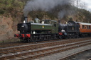 6430 + 4566 - 20-3-16 - Bewdley (Severn Valley Railway) (1)