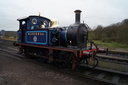 323 BLUEBELL - 25-2-17 - Cheddleton (Churnet Valley Railway)