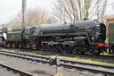 70013 OLIVER CROMWELL - 18-3-17 - Loughborough Central (Great Central Railway)