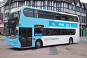 4886 BX13JVA 'Christine' - 10-6-17 - Corporation Street - Hales Street, Coventry