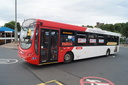 2091 BX12DCU 'Paul Cockin' - 22-7-17 - Dudley Bus Station (1)