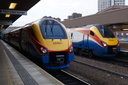 222021 (60181 + 60552 + 60641 + 60931 + 60261) + 222020 (60260) - 18-11-17 - Leicester