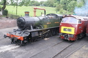 5164 + D1062 Western Courier - 21-5-11 - Bridgnorth