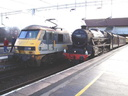 90036 + 45407 The Lancashire Fusilier - 18-12-04 - Birmingham International