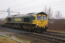 66540 Ruby - 17-2-07 - Bushbury Junction