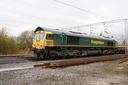 66619 Derek W Johnson MBE - 10-11-07 - Bushbury Junction