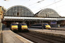 91124 + 91116 Strathclyde + 91121 - 8-4-09 - London Kings Cross