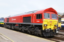 59206 John F Yeoman Rail Pioneer - 23-5-09 - Eastleigh Works