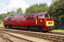 D1015 Western Champion - 9-8-09 - Barrow Hill Roundhouse