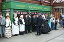 Queen Victoria meets her subjects - 19-5-12 - Kidderminster Town