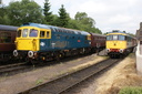 33102 Sophie + 33021 Captain Charles - 20-7-13 - Cheddleton (Churnet Valley Railway)