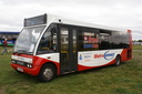 1542 YJ54BUP - 22-9-13 - Long Marston Airfield, (Showbus 2013)