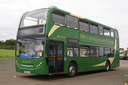 15453 MX08GJE - 22-9-13 - Long Marston Airfield, (Showbus 2013)