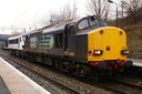 37609 + 90005 Vice - Admiral Lord Nelson - 31-12-13 - Tame Bridge Parkway