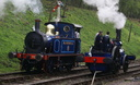 323 BLUEBELL + AP 9449 THE BLUE CIRCLE - 12-4-14 - Shackerstone (Battlefield Line)