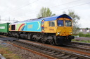 66720 - 26-4-14 - Bushbury Junction