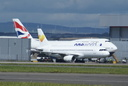 LY-VEN + G-CIVD - 17-8-14 - Cardiff Airport